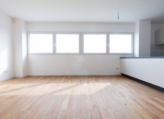 Empty new office or conference room with small kitchen for rent