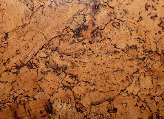 Texture of  decoration  material cork closeup
